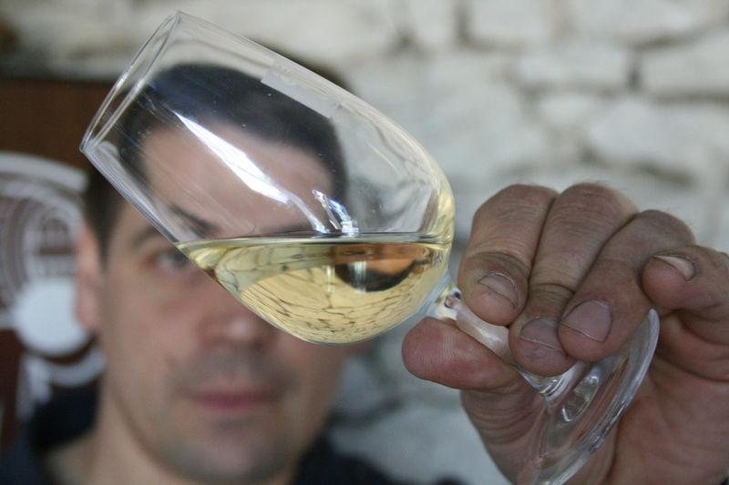 olivier roche verre de saussignac